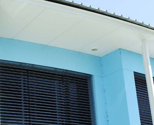 external facade cladding system